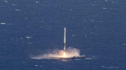 El histórico aterrizaje de SpaceX sobre el mar como nunca lo habías visto