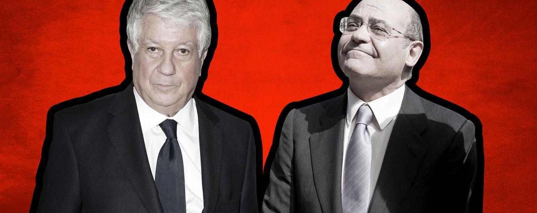 Foto: Arturo Fernández y Gerardo Díaz Ferrán, en un fotomontaje realizado por 'Vanitatis'