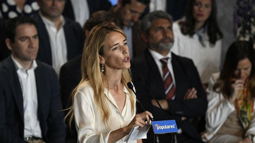 Foto: Cayetana Álvarez de Toledo, candidata número uno del PP por Barcelona (Efe)