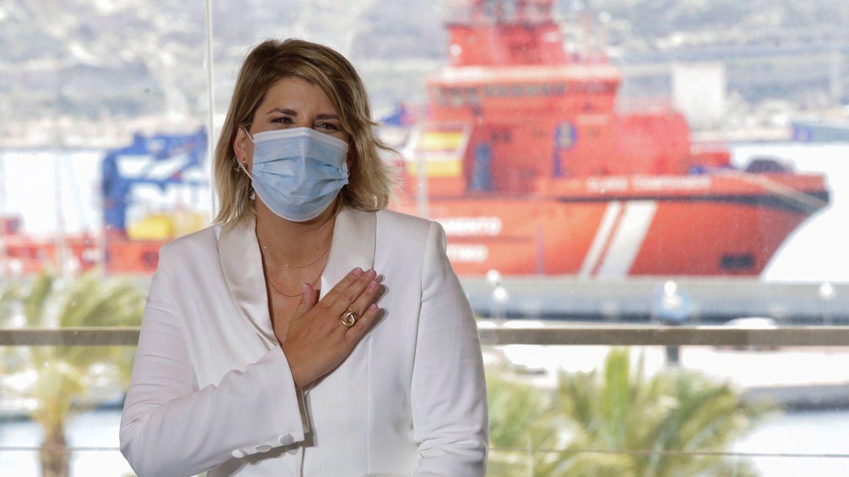 La recién nombrada alcaldesa de Cartagena, Noelia Arroyo. (EFE)
