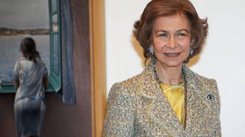 La reina Sofía reaparece fugazmente en Palma tras un mes sin actos públicos