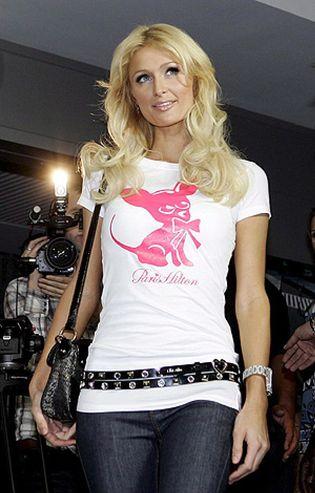 Foto: Paris Hilton también juega a la lotería