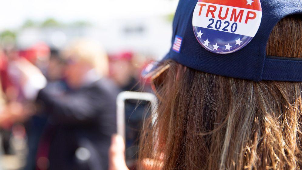 Foto: Manifestación pro Trump 2020 en EEUU. (Reuters)