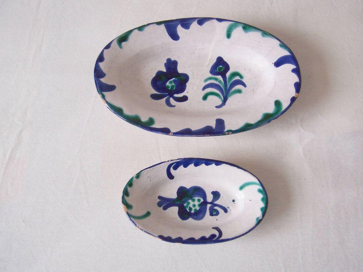 Foto: Piezas de cerámica de fajalauza. Fuente: Wikimedia