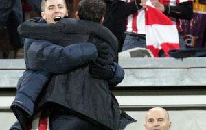 Iker Muniain y la alegría de ir a entrenar con el Athletic de Valverde