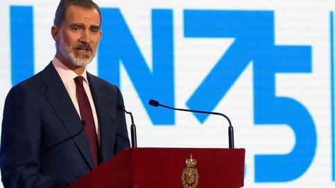 La medalla a Felipe VI, envenenada para el PSOE