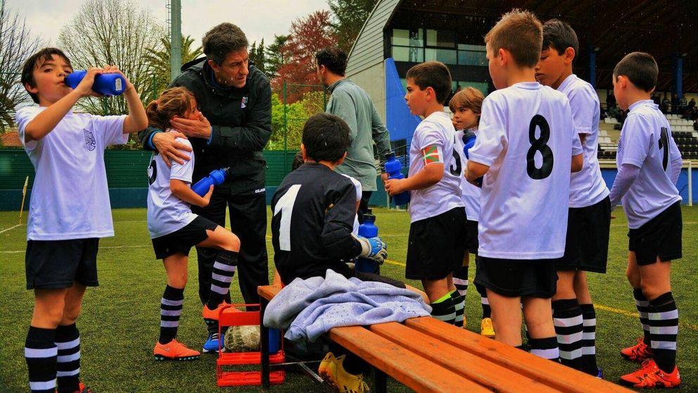 Los clubes de Vizcaya se rebelan contra  el 'tráfico de niños' en el fútbol base