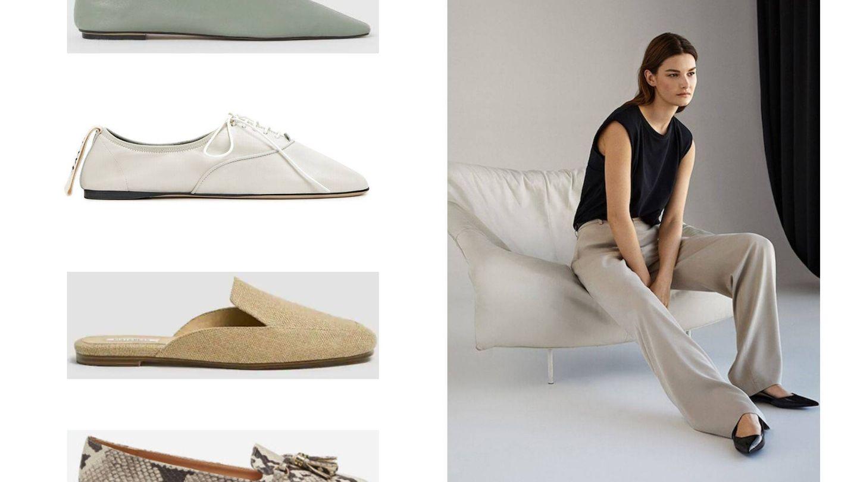 O modelos atemporales y minimalistas.