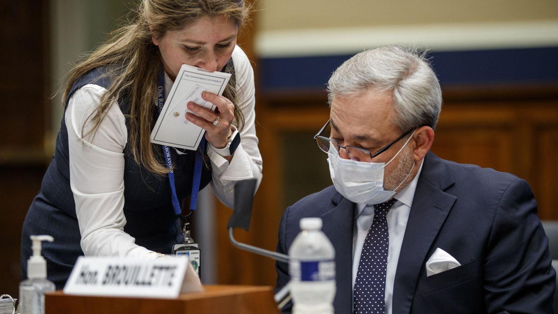 El secretario de Energía de EEUU, Dan Brouillette, en el Congreso. (Reuters)
