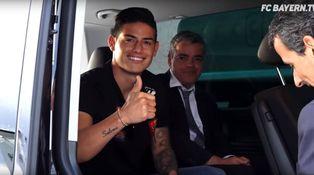 El asesor fiscal del clan Mendes reaparece... junto a James en Múnich