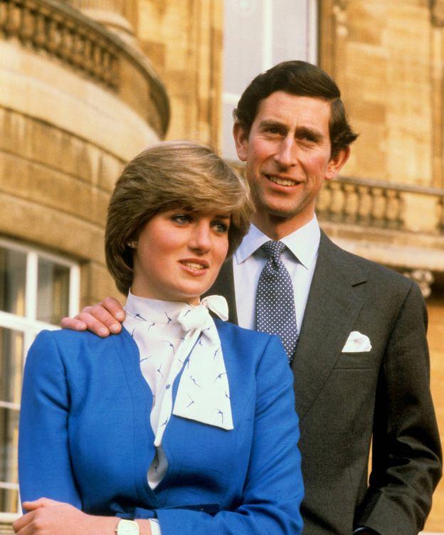 Foto: Diana y Carlos en una foto de archivo. (Cordon Press)