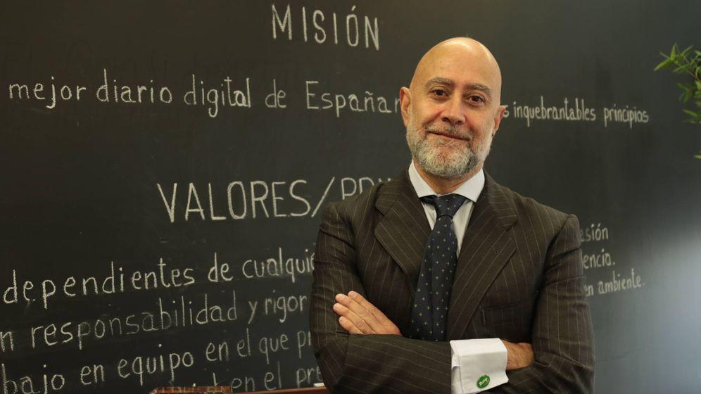 Foto: Luis Martín-Jadraque, responsable del Centro de Inversiones de Deutsche Bank. (EC)