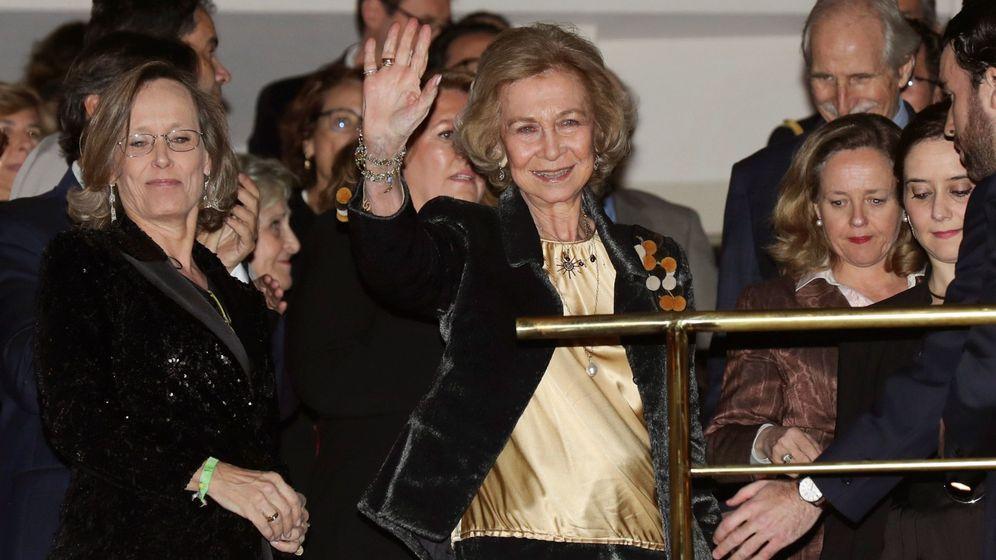 Foto: La reina Sofía, este martes en el Auditorio Nacional. (EFE)