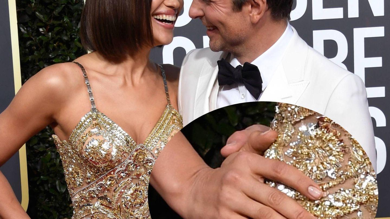 Irina Shayk y Bradley Cooper en los Oscar de 2019. (Getty)