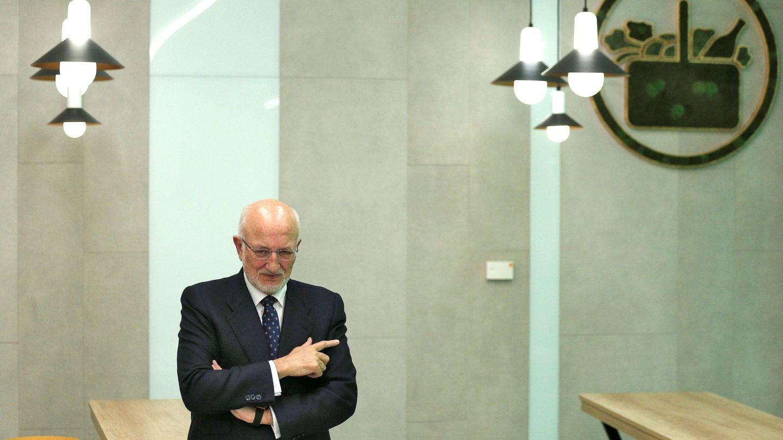 Juan Roig, presentando los resultados económicos del pasado ejercicio. (EFE)