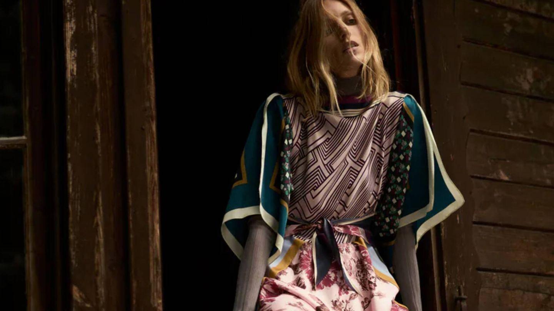 El nuevo vestido de Zara de la colección limitada Scarf Collection Limited Edition. (Cortesía)