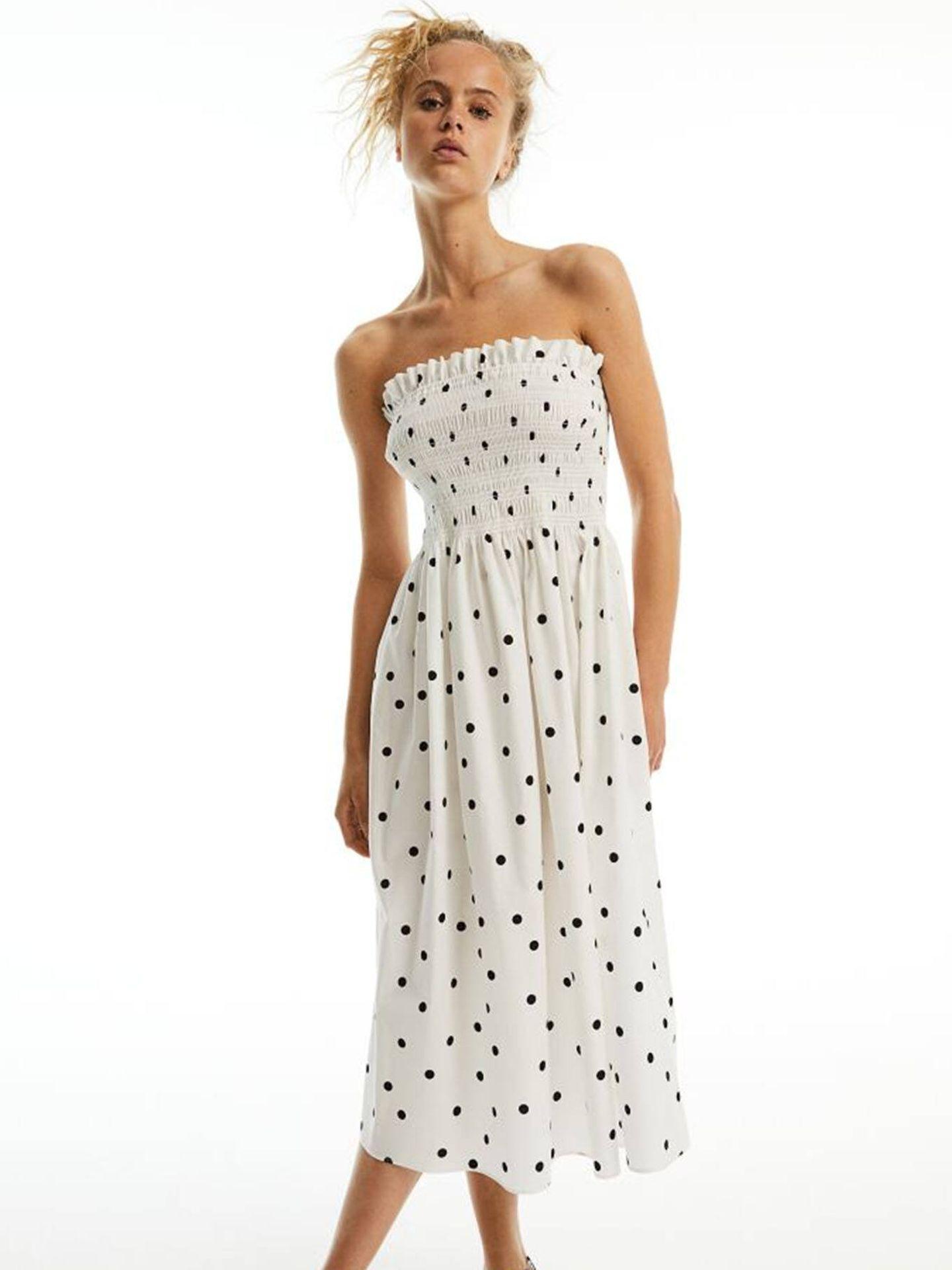 El versátil vestido de HyM para siempre acertar. (Cortesía)