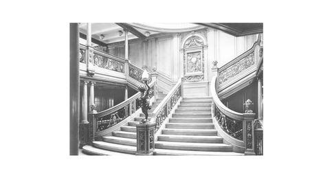 Las primeras imágenes del Titanic II, una réplica del original