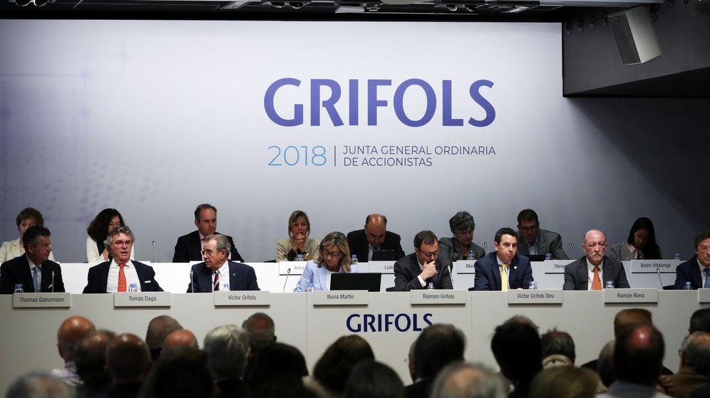Foto: Foto de archivo de la junta general de accionistas de Grifols. (Reuters)