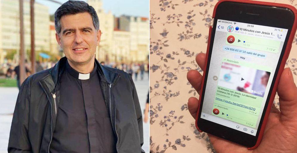 Foto: José María García de Castro, promotor de los '10 minutos con Jesús'. (EC)