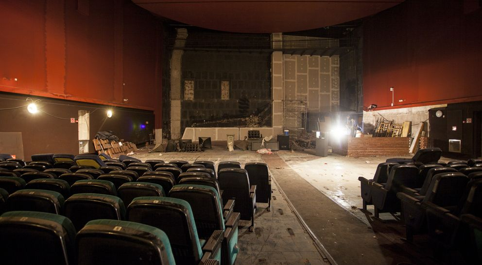 Foto: El cine Luchana se convertirá en multisala de teatro