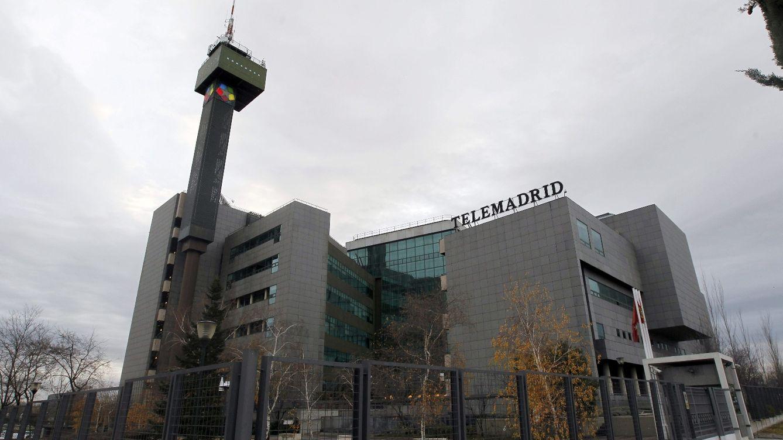 Foto: Sede de Telemadrid, en Ciudad de la Imagen. (EFE)