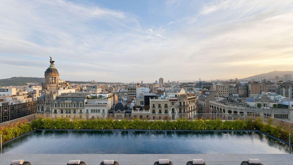 Foto: La piscina en la azotea del hotel Mandarín Oriental de Barcelona