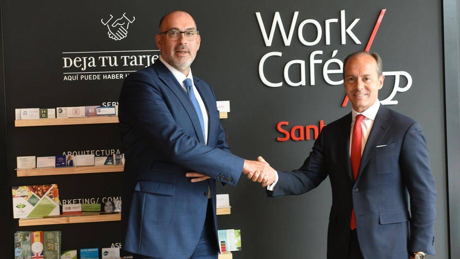 Foto: Telefónica y Santander se alían para desarrollar los primeros casos de uso 5G en la banca europea