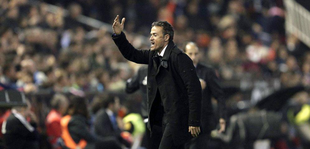 Foto: Luis Enrique considera que la plantilla necesita reforzarse con algún jugador de ataque (EFE)