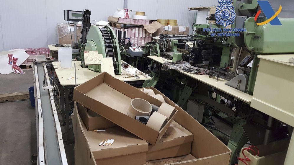 Foto: Incautadas 39 toneladas de tabaco picado de contrabando que iba a ser distribuido en España. (EFE)