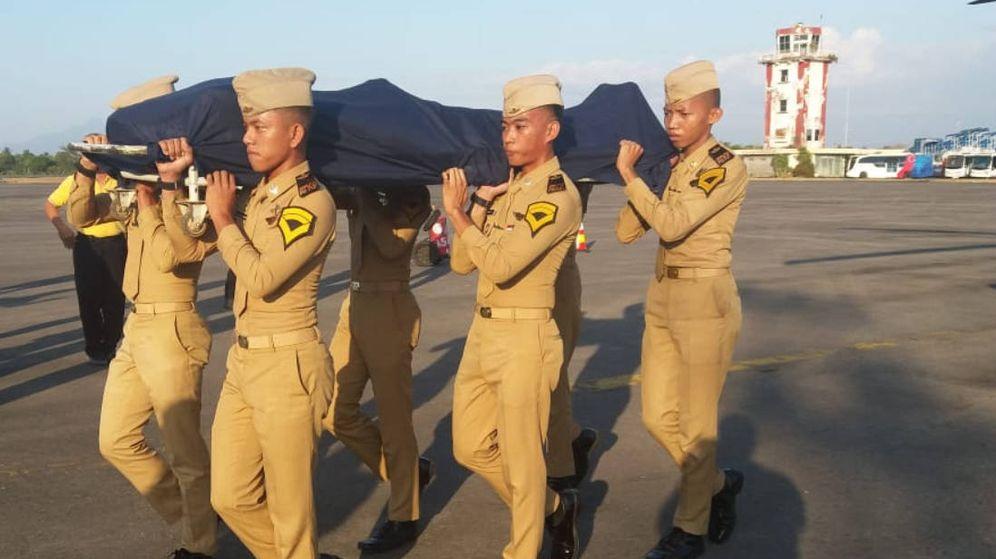 Foto: Las autoridades han reconocido a Anthonius Gunawan Agung como un héroe nacional (Foto: Air Navegation Indonesia)