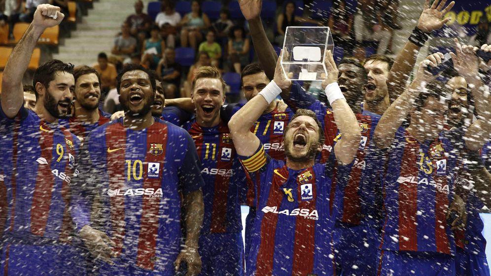 Foto: El Barcelona inauguró la temporada con el título de la Supercopa (Jesús Diges/EFE)