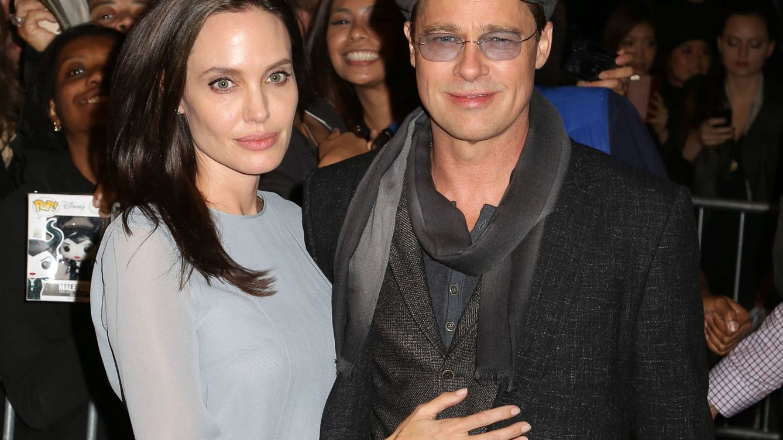 Foto: Angelina Jolie y Brad Pitt (Gtres)