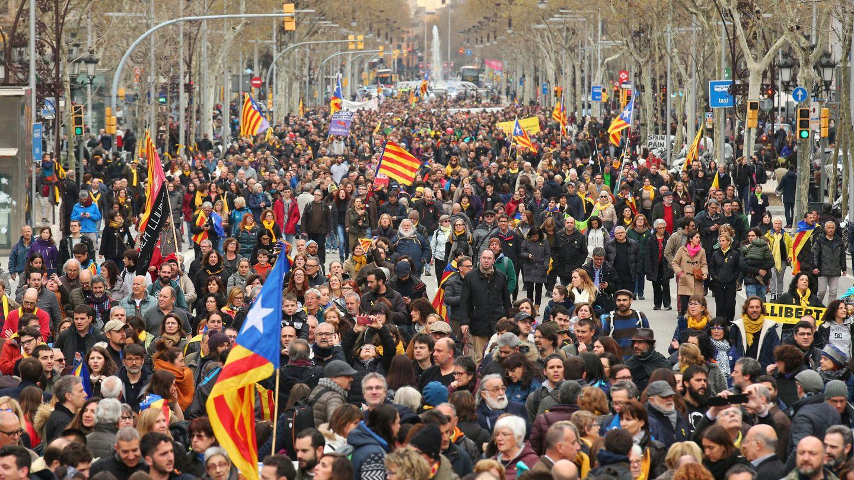 Imagen de la concentración. (Reuters)