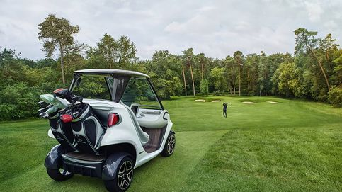 Un Mercedes para pisar a fondo por los campos de golf