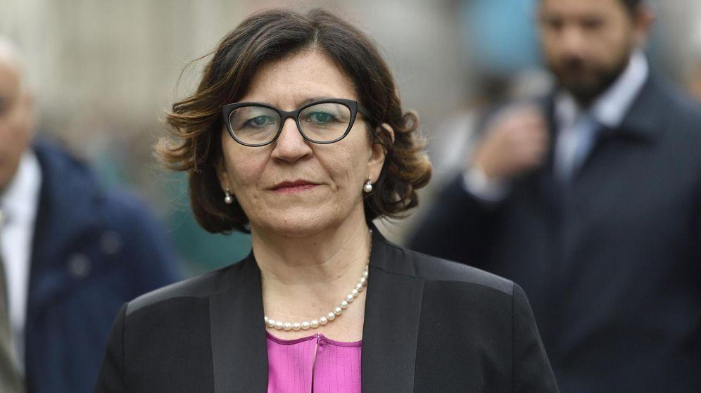 Foto: La ministra de Defensa italiana, Elisabetta Trenta. (Reuters)