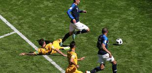 Post de Y al tercer día apareció el VAR en el Mundial: penaltis a favor de Francia y Perú