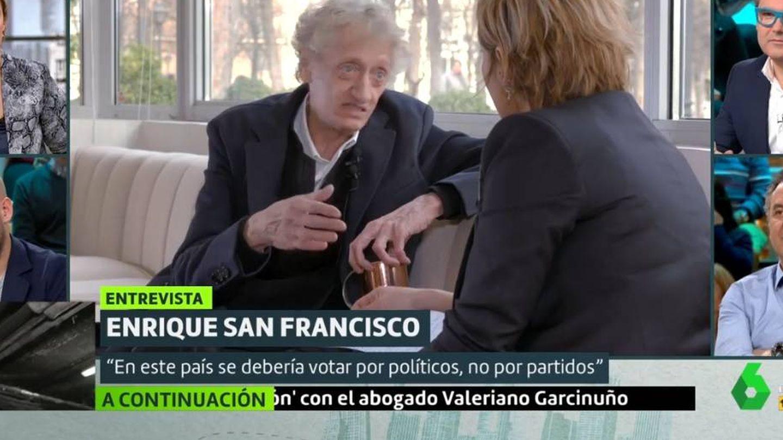 Enrique San Francisco y Cristina Pardo, en 'Liarla Pardo'. (La Sexta).