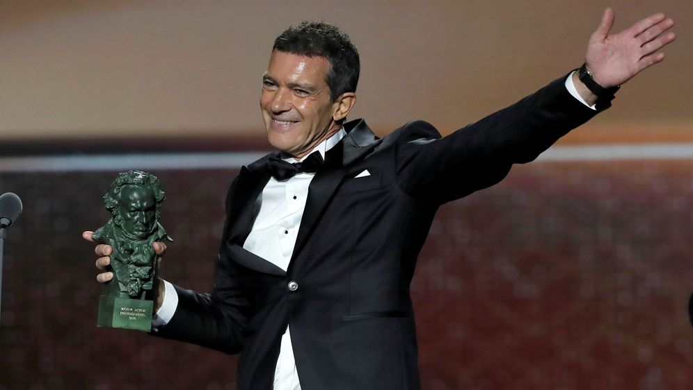 Foto: El actor Antonio Banderas, premio a la personalidad del año en los Premios Influentials.