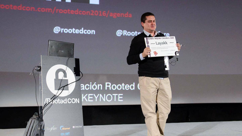 Román Ramírez, en la RootedCON 2016. Foto: Flickr/RootedCON.