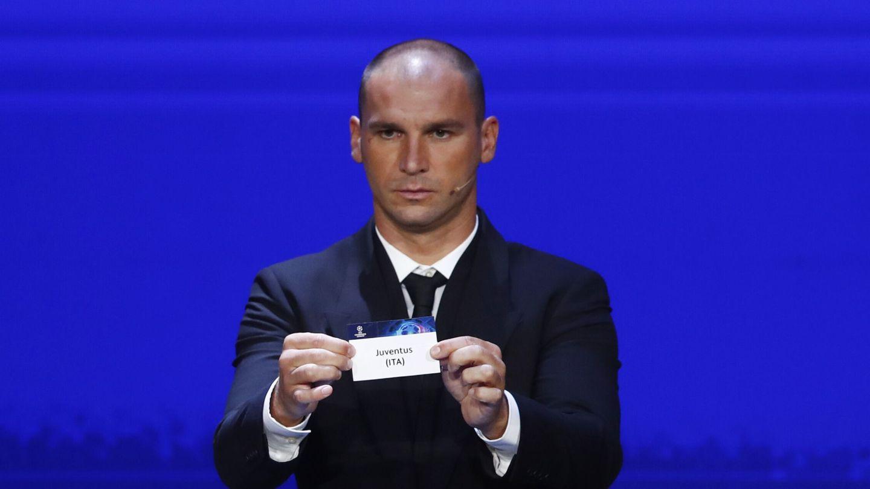 Ivanovic, durante el sorteo. (Reuters)