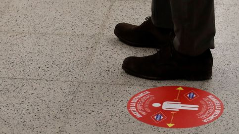Así es la nueva medida del Metro de Madrid para asegurar la distancia social entre pasajeros