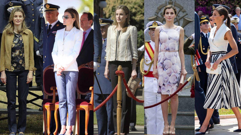 La evolución de la Reina. (EFE / Getty)