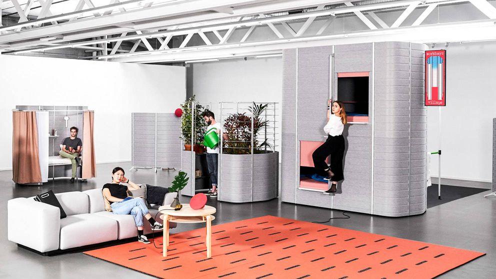 Así serán las oficinas del futuro. Con gimnasio, bar y dormitorios