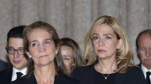 Cristina, gran protagonista del funeral de su tía Alicia