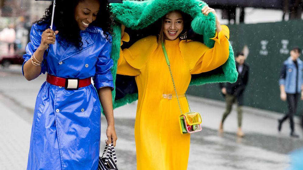 Foto: Street style de la Semana de la Moda de Nueva York. (Imaxtree)