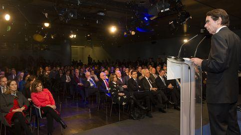 El PP y el Ibex copan la presentación del Instituto Atlántico de Aznar