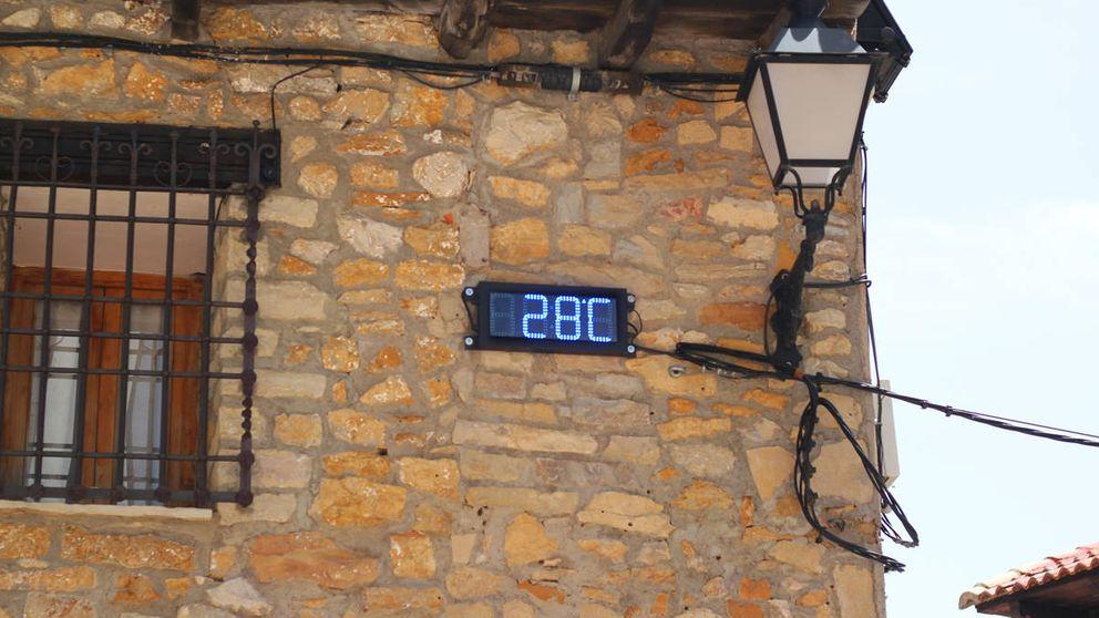Pasamos la ola de calor en la Siberia española: ¡27ºC, no se puede salir a la calle!