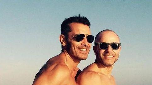 Jesús Vázquez y su marido se marcan un 'mediterráneamente'
