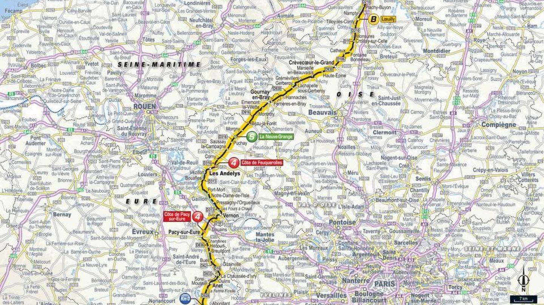 Recorrido de la octava etapa | Tour de Francia 2018